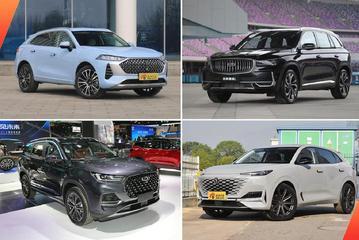 20万买自主品牌SUV 新一轮新车型攻势不得不看