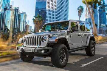 纯电续航55公里 Jeep牧马人4xe Sahar登工信部免征购置税目录