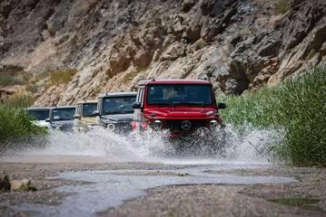 驰骋沙漠戈壁 奔驰全系SUV试驾体验