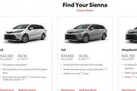 差距这么大?丰田中外价格对比,汉兰达平价卖,赛那贵了小10万