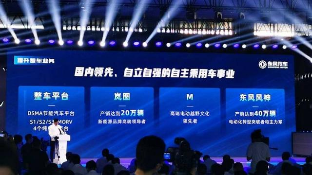东风M品牌官宣 定位高端电动越野品牌