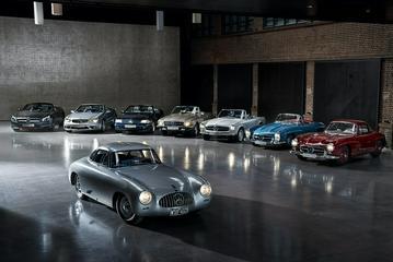 颜值与性能兼备 奔驰SL设计历史解读