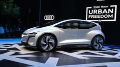 现在与未来的纽带 奥迪AI:me概念车