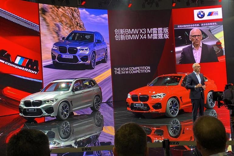 宝马X3 M/X4 M车型将于8月27日上市