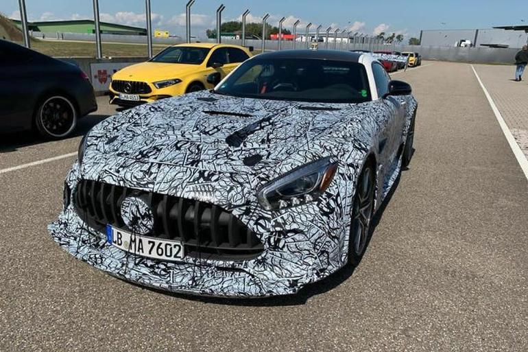 超708马力! AMG GT Black Series谍照曝光