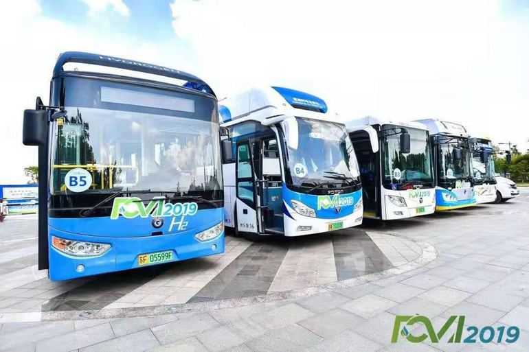 氢能源汽车巡游:常熟将成氢能源试点地区