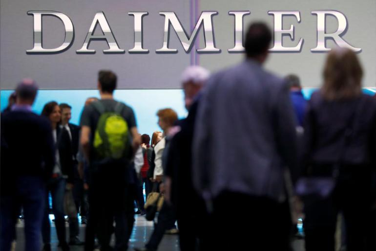 戴姆勒計劃到2022年底至少裁員10000人 約占全球總人數3.3%
