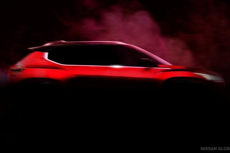 三季度发布 日产全新小型SUV预告图