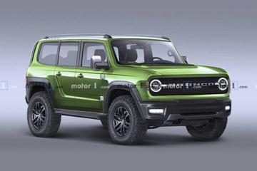 福特全新Bronco假想图曝光 最快于四月发布