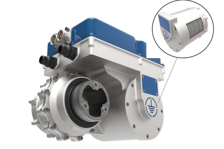 解析世界上功率密度最大的电动汽车发动机