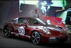 保时捷911 Targa 4S Heritage Design 特别版