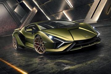 兰博基尼神秘新车7月9日全球首发 或采用电动化动力总成