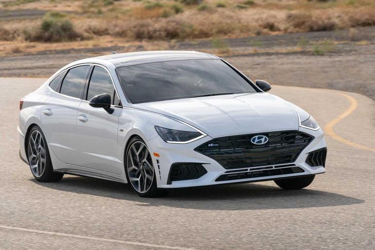第十代现代Sonata新增N Line运动版车型 内外设计更具侵略性