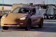 特斯拉Model Y测试车曝光 或具备越野性能