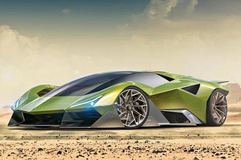 兰博基尼Matadaor超跑概念车渲染图曝光 最大功率高达1400马力
