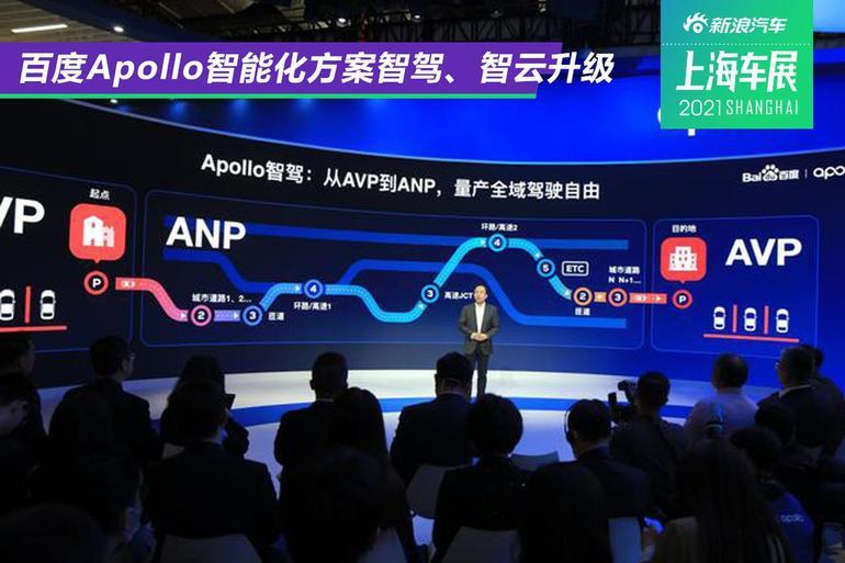 2021上海车展:百度Apollo智能化方案智驾、智云升级