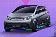 采用新车标 比亚迪全新车型将于6月22日亮相
