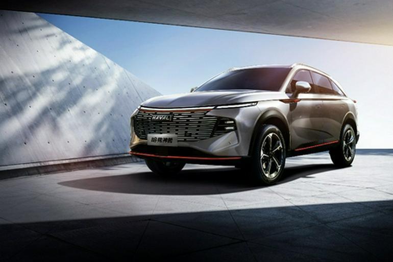 神兽——哈弗全新旗舰SUV正式命名
