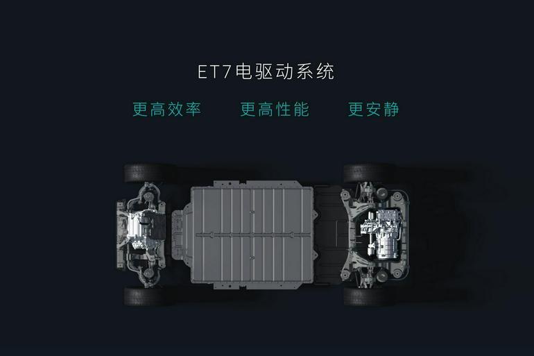 电池很重要 但这次要聊聊蔚来ET7的电驱系统