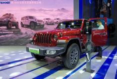 2021重庆车展:Jeep牧马人4×e