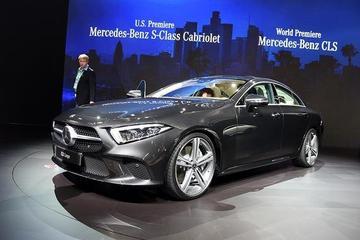 2017洛杉矶车展 全新奔驰CLS Coupe解析