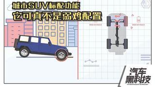 视频:鸡肋?这可是城市SUV的标配!
