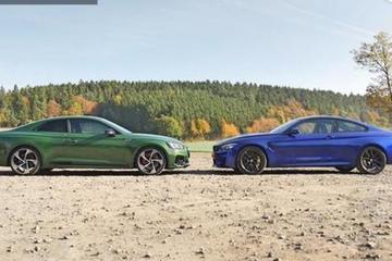 视频:全新宝马M4 CS和全新奥迪RS5的硬碰硬对比横评
