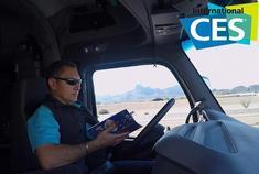 2018年CES:卡车司机开车看报纸你服吗?