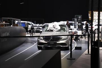 2018日内瓦车展探馆:奔驰新款C级亮相