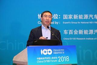 朱江明:未来的智能电动汽车就是电子产品