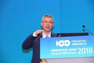 朱军:上汽2018年新能源汽车销量目标是10万辆