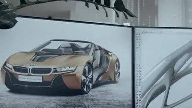 视频:一眼爱上它!2018版宝马i8-roadster
