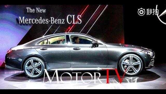 视频:梅赛德斯-奔驰CLS 2018~世界首秀洛杉矶车展~