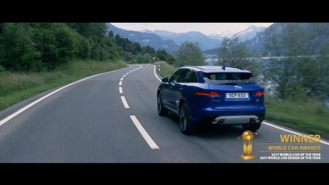视频:捷豹跑车型SUV | F-PACE荣膺2017世界汽车大奖两项大奖