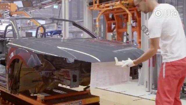 视频:看一辆奥迪TT是如何制造的