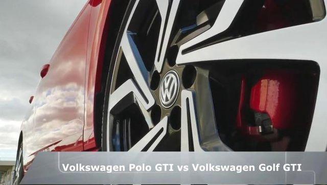 视频:2018款大众Polo GTI vs 大众高尔夫GTI