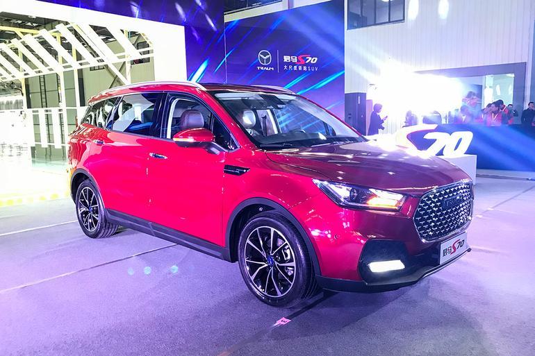君马S70正式下线 首款车型/明年1月上市