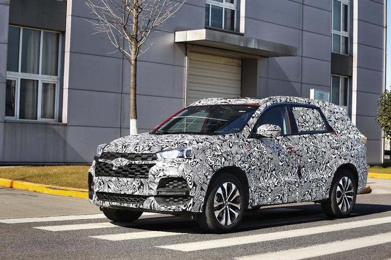 奇瑞全新7座SUV T18谍照 将于上半年上市
