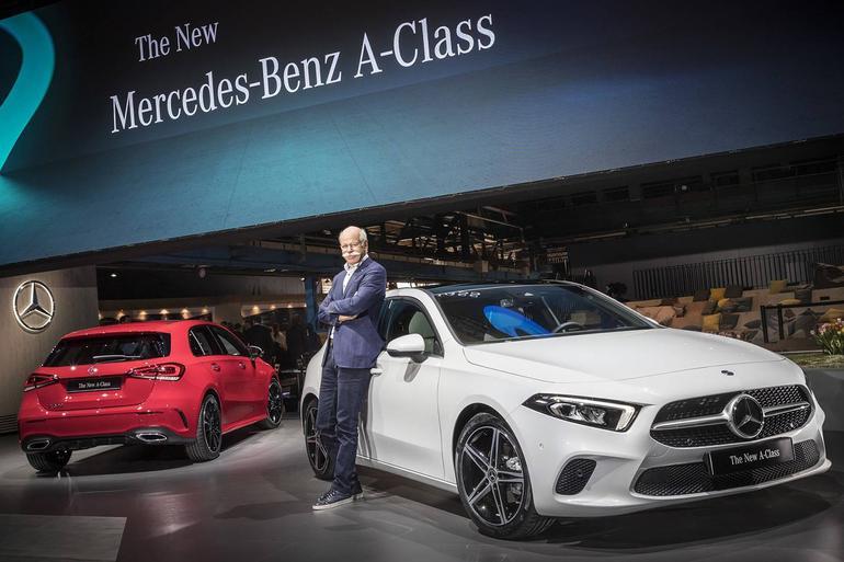 全新一代奔驰A级正式发布 全新家族式造型