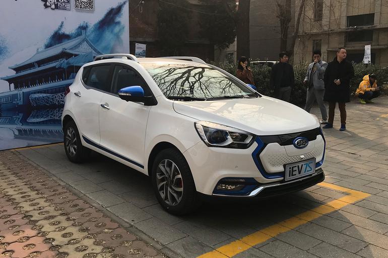 江淮iEV7S北京地区上市 补贴后售11.95万