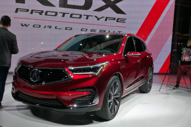 2018北美车展:讴歌全新RDX原型车发布