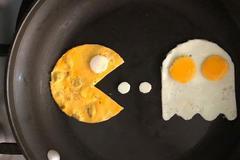 儿童节 妈妈给宝宝做的创意煎蛋