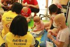 """""""向日葵儿童""""对战儿童肿瘤一年 再聚智慧光芒铸就希望之桥"""