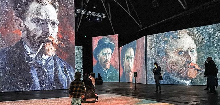 轟動全球的光影藝術展,梵高迷不可錯過