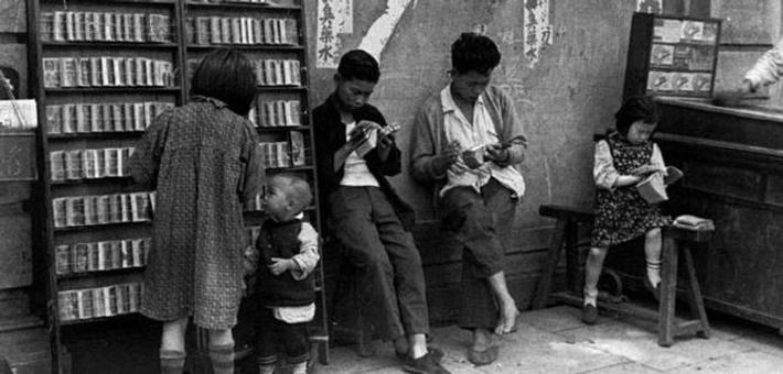 著名摄影师塔塔拍摄的老上海