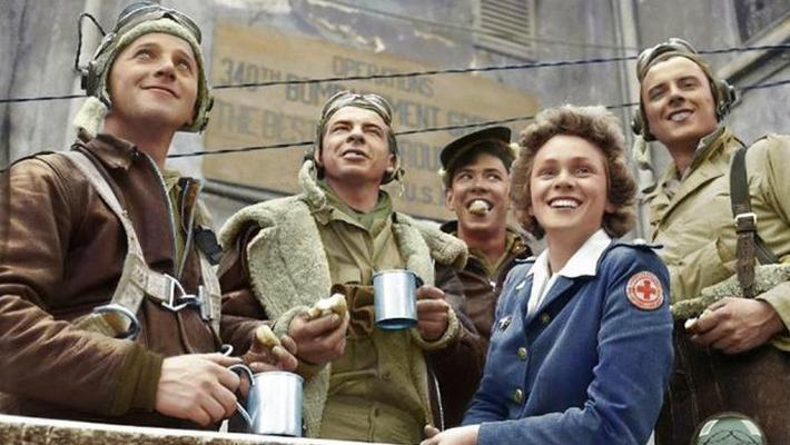 二战时期:上色老照片