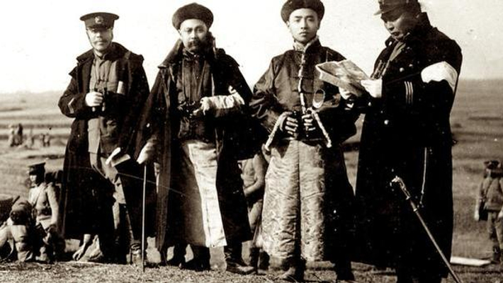 清亡前大清军队军服走向西化