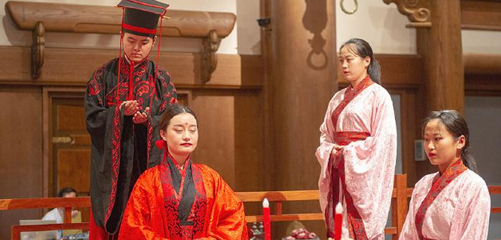 在東方聖城,邂逅最傳統的中式婚禮