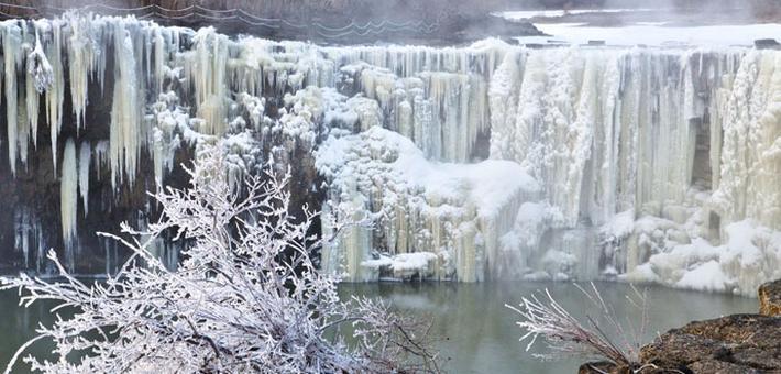 美呆了!美到极致的冰雪世界