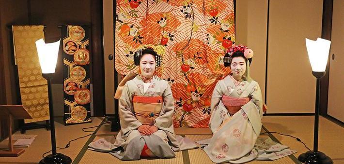 去日本看一场生动的艺妓表演